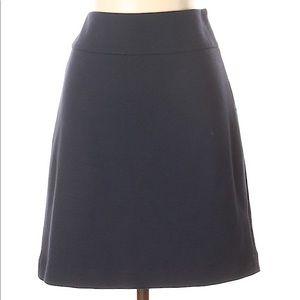 Banana Republic Navy Knit Skirt New Size 4
